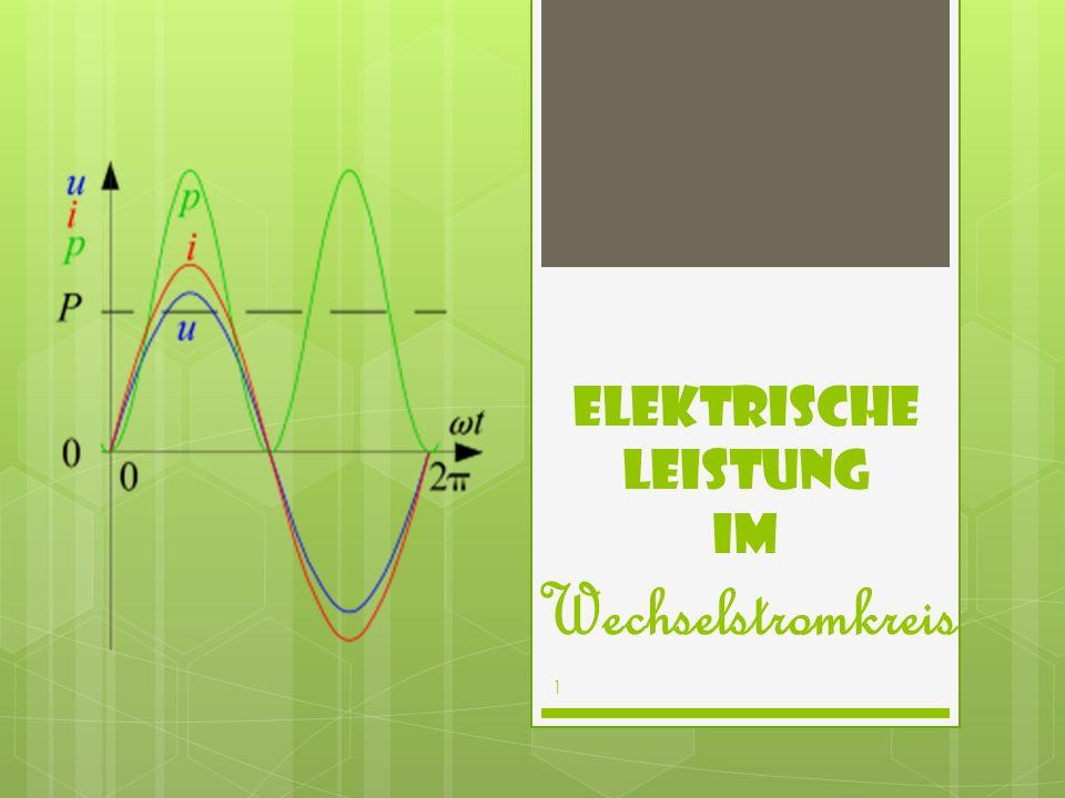Elektrische Leistung im