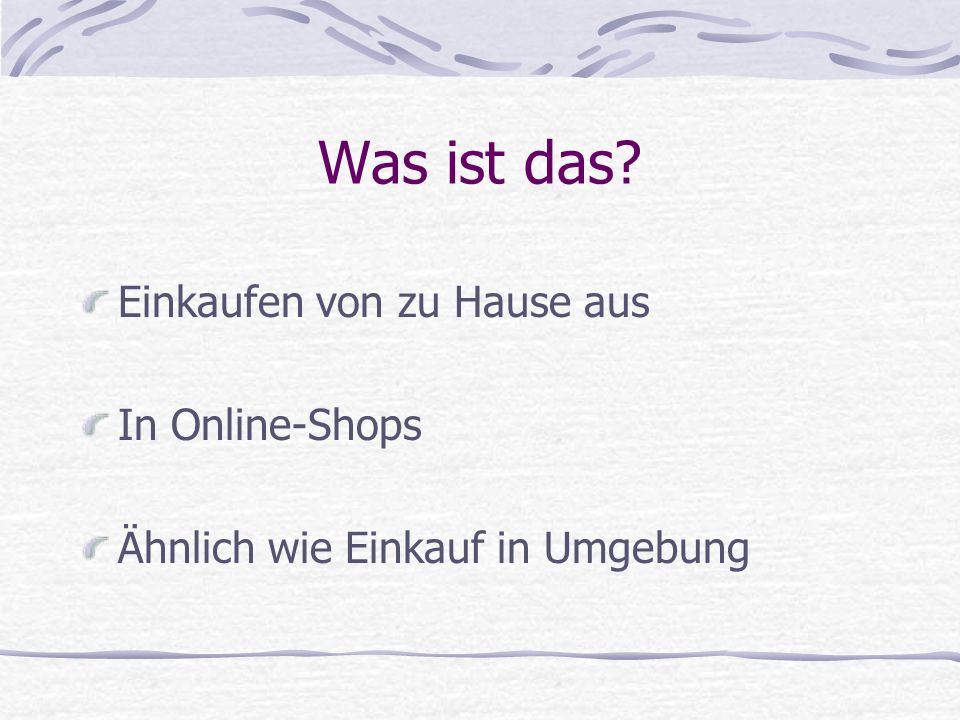 Was ist das Einkaufen von zu Hause aus In Online-Shops