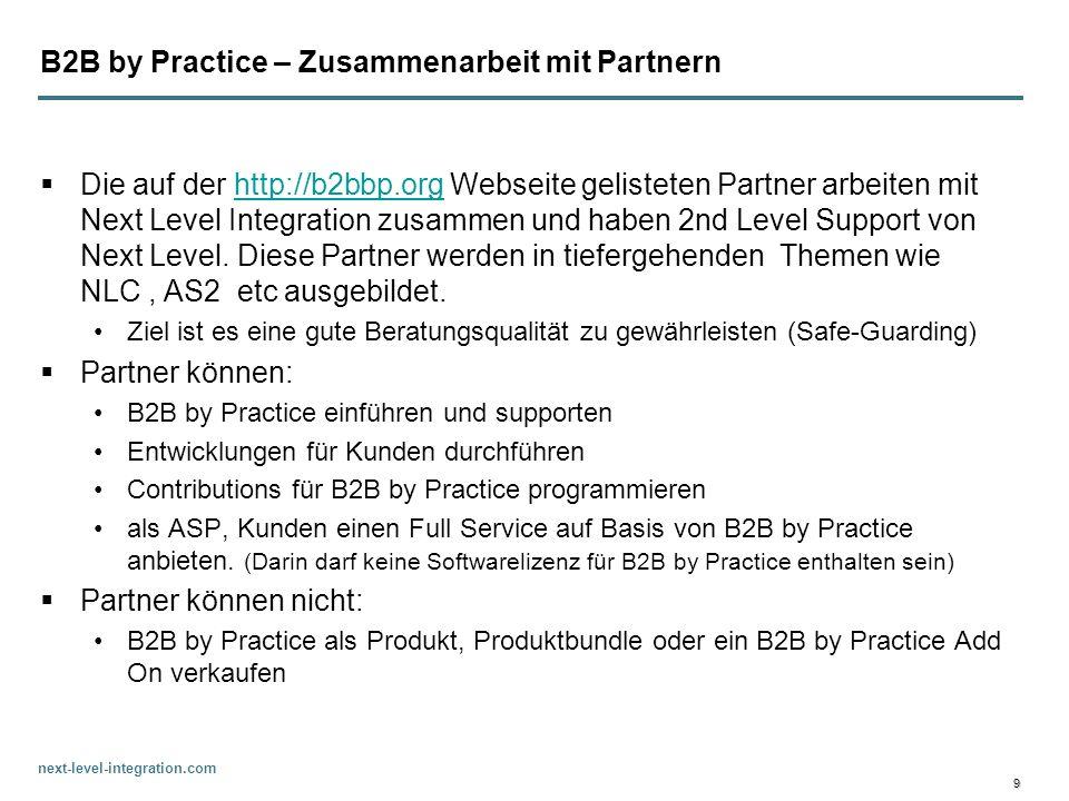 B2B by Practice – Zusammenarbeit mit Partnern