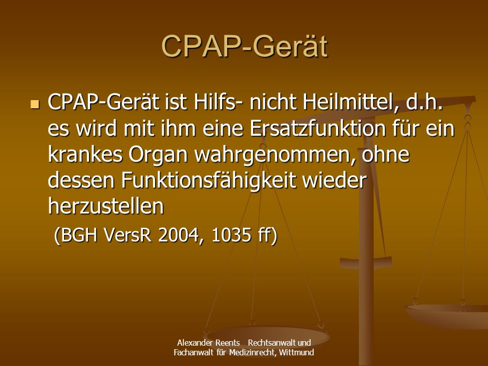 CPAP-Gerät