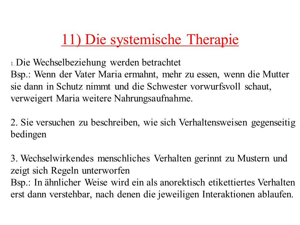 11) Die systemische Therapie