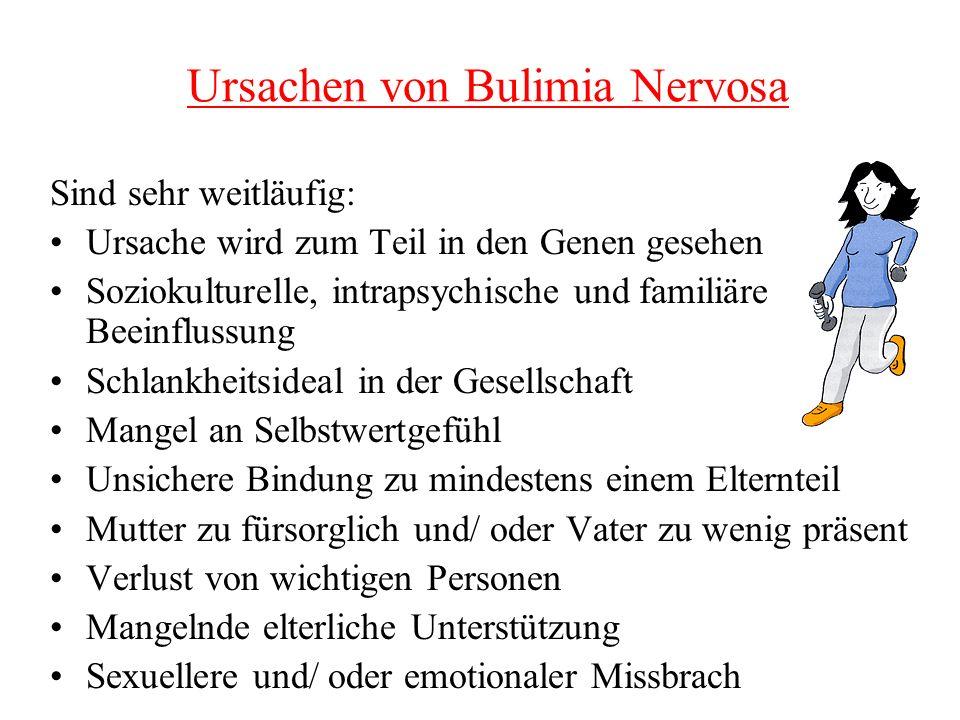 Ursachen von Bulimia Nervosa