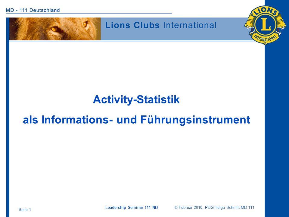als Informations- und Führungsinstrument