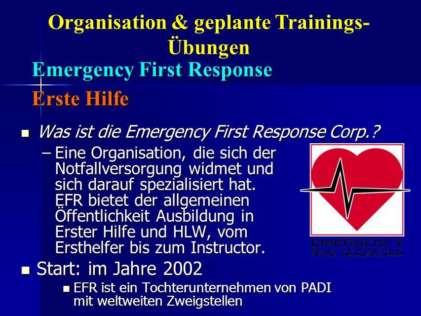 Emergency First Response Erste Hilfe