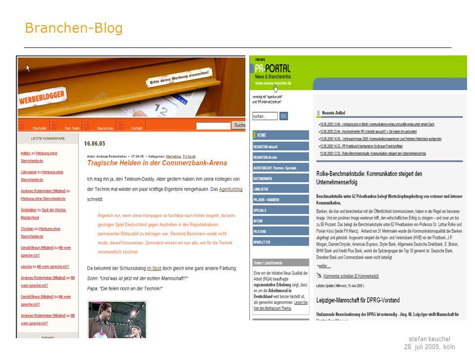Branchen-Blog