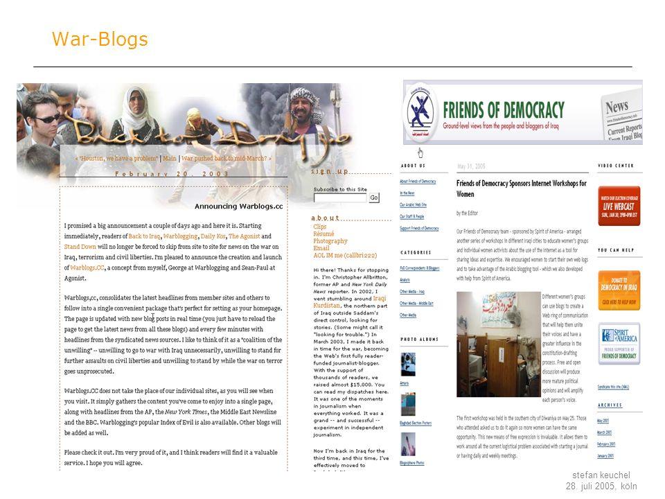 War-Blogs