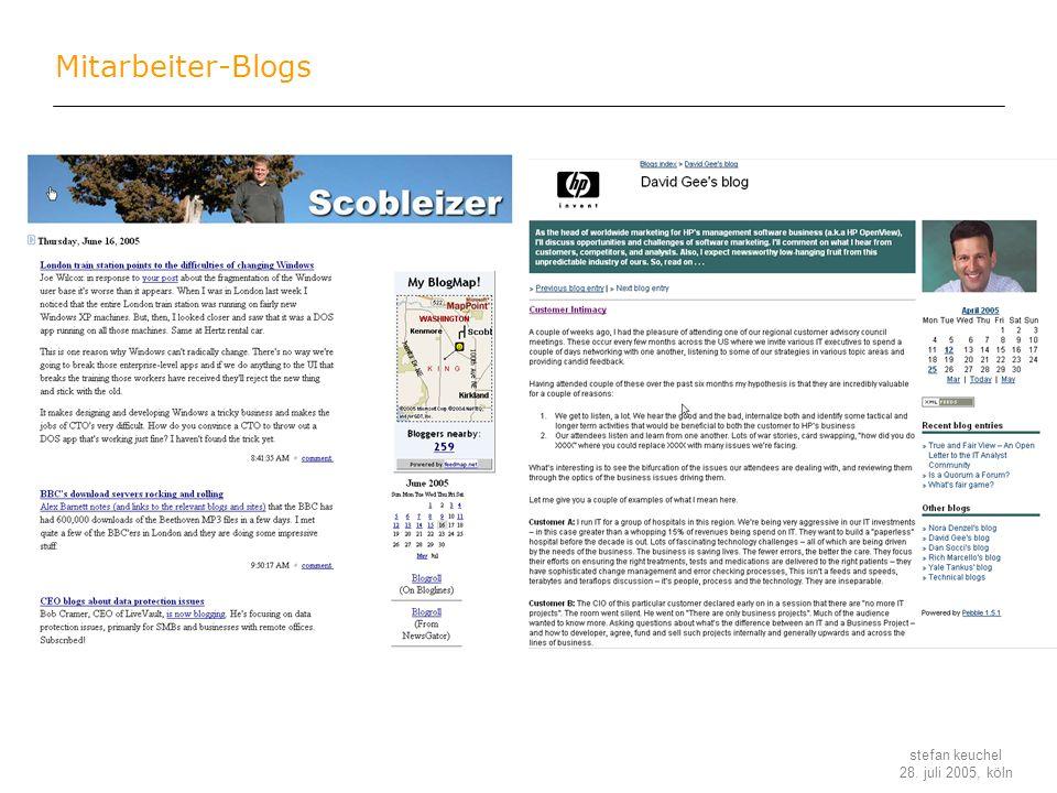 Mitarbeiter-Blogs