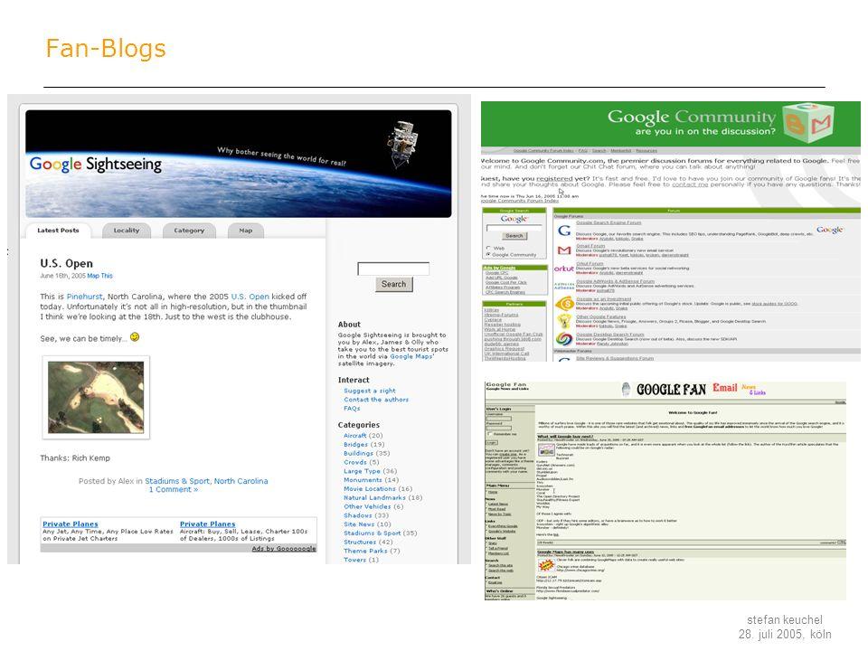 Fan-Blogs
