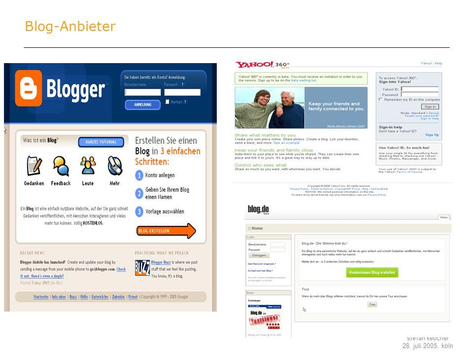 Blog-Anbieter