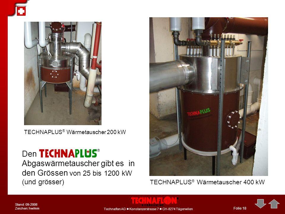 TECHNAPLUS® Wärmetauscher 200 kW