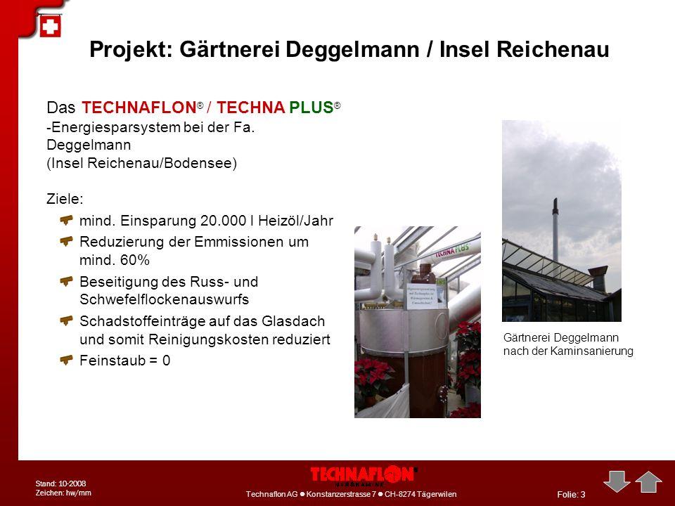 Projekt: Gärtnerei Deggelmann / Insel Reichenau