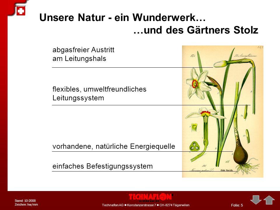 Unsere Natur - ein Wunderwerk… …und des Gärtners Stolz