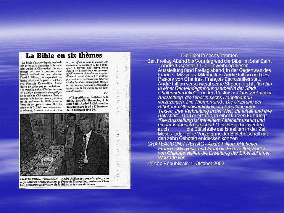 Die Bibel in sechs Themen