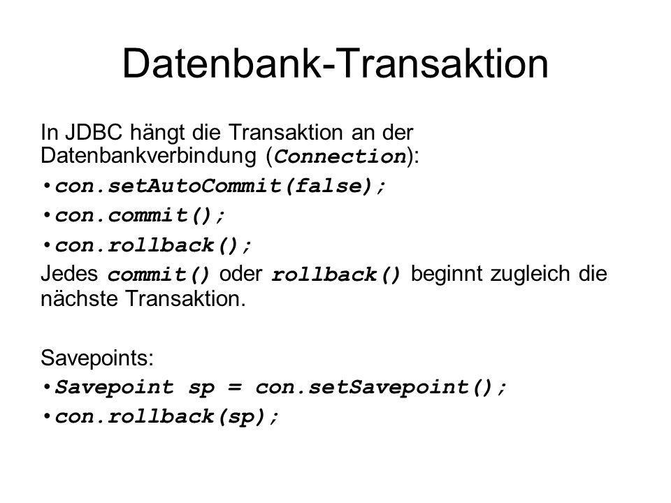 Datenbank-Transaktion