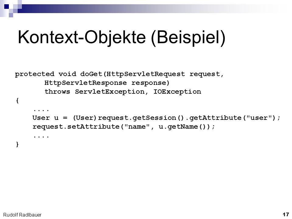 Kontext-Objekte (Beispiel)