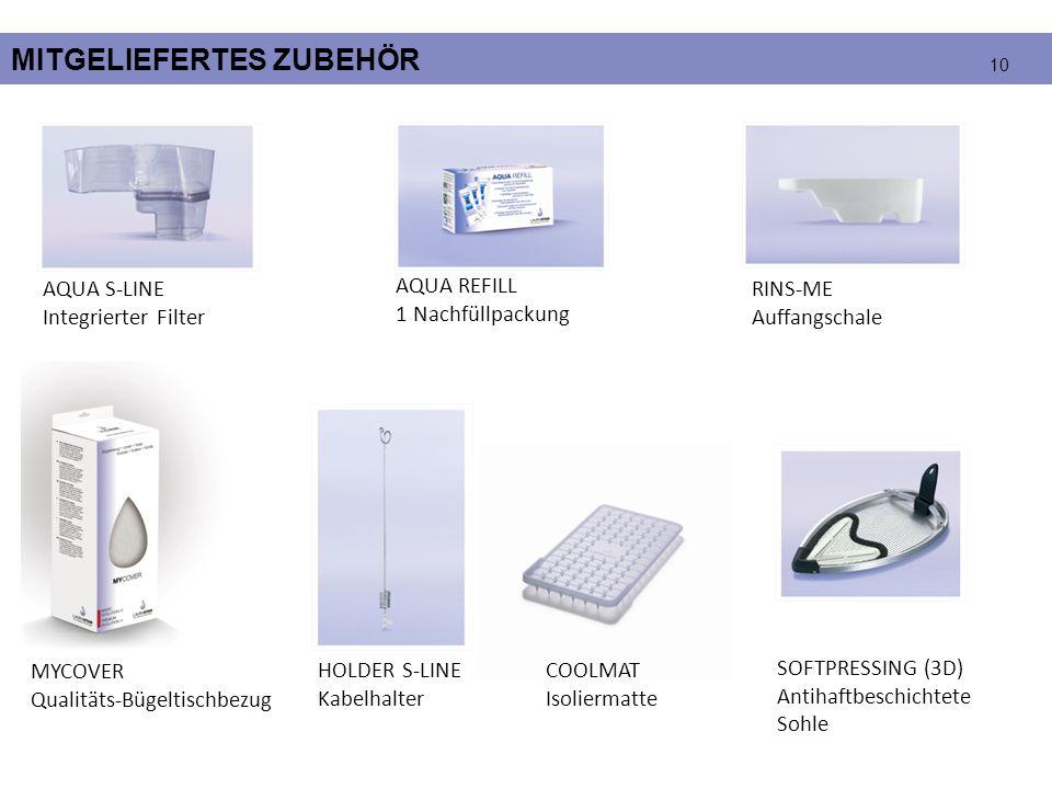 MITGELIEFERTES ZUBEHÖR