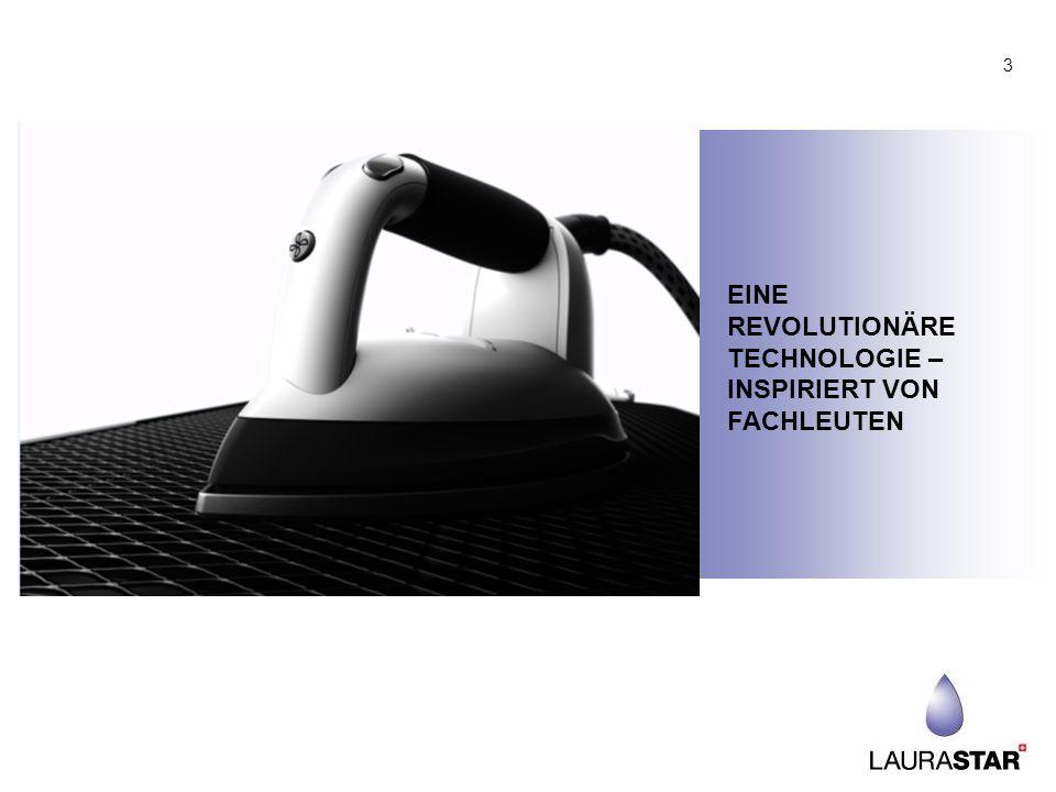EINE REVOLUTIONÄRE TECHNOLOGIE – INSPIRIERT VON FACHLEUTEN