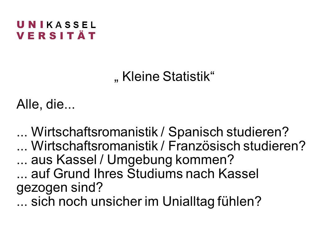 ... Wirtschaftsromanistik / Spanisch studieren