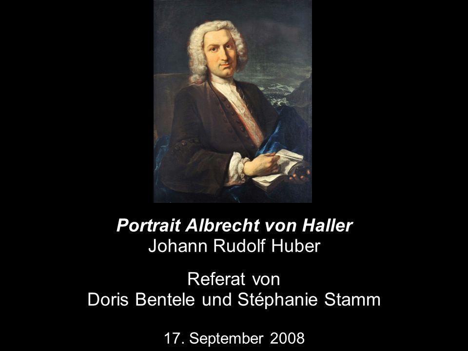 Portrait Albrecht von Haller