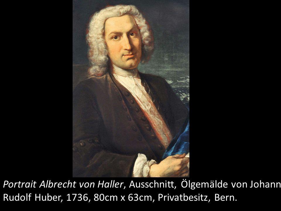 Seine vornehmen Kleider und seine Perücke weisen darauf hin, dass er der gehobenen Gesellschaftsschicht Berns, nämlich den Burgern angehört, die im 18 Jahrhundert zwar regimentsfähig, aber nicht sehr einflussreich waren.