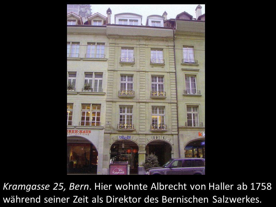 Kramgasse 25, Bern.