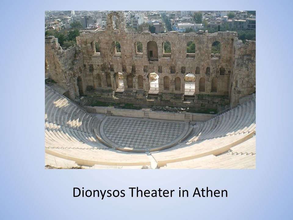 Dionysos Theater in Athen