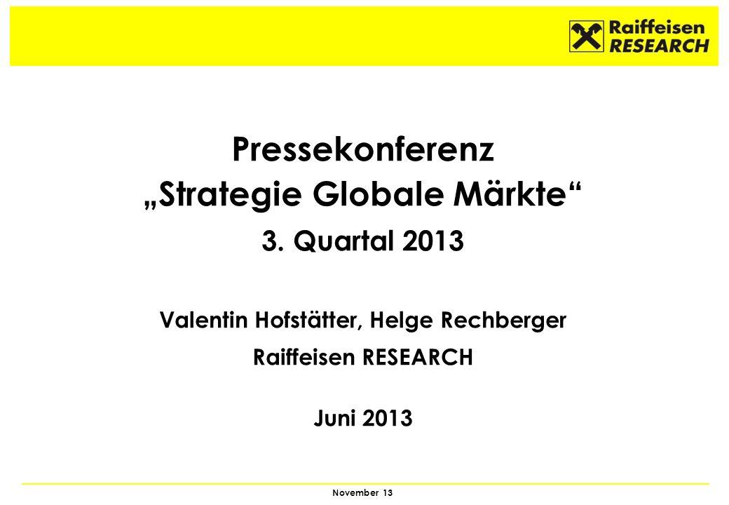 """""""Strategie Globale Märkte Valentin Hofstätter, Helge Rechberger"""