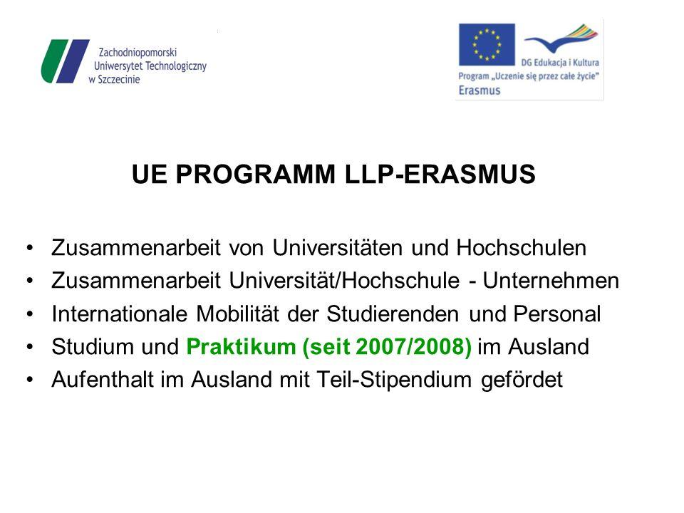 UE PROGRAMM LLP-ERASMUS