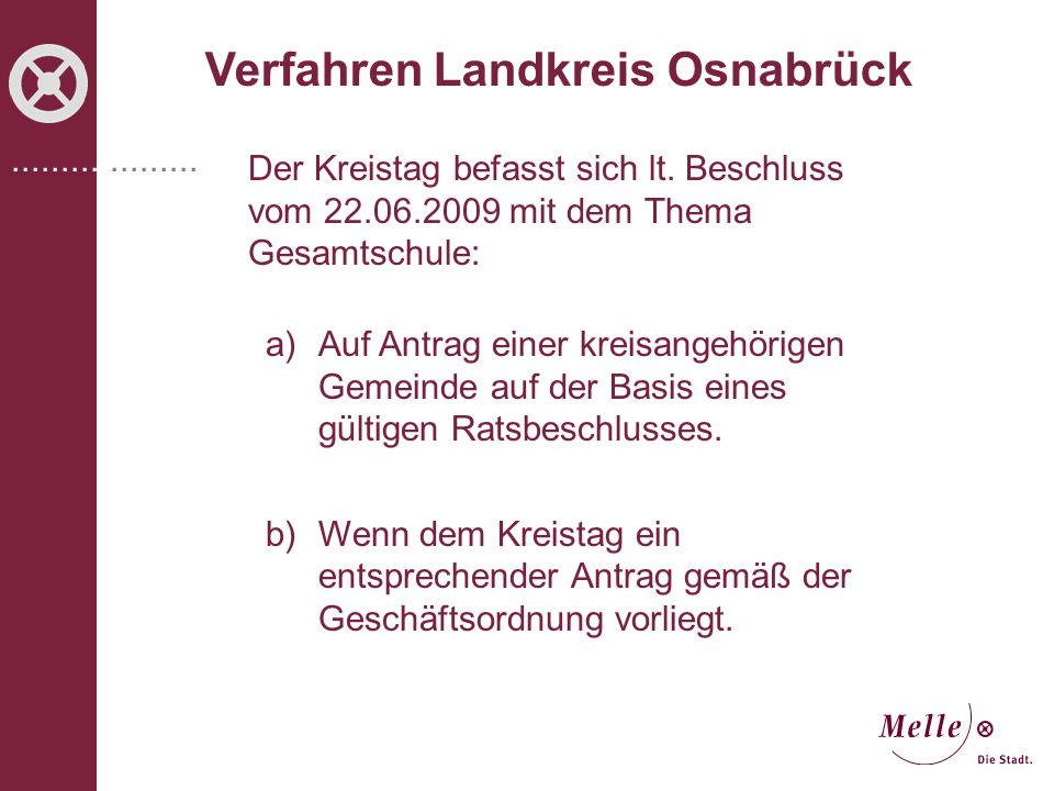 Verfahren Landkreis Osnabrück