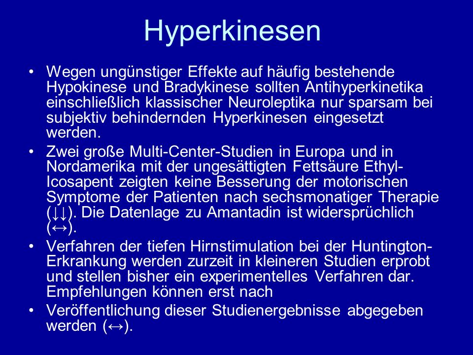Hyperkinesen
