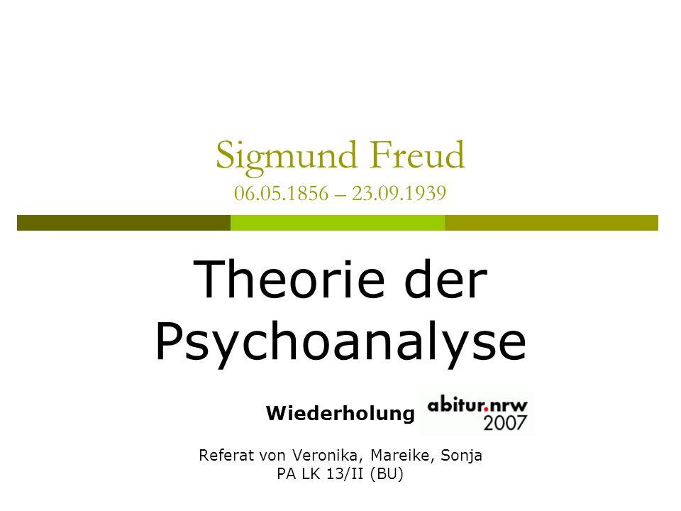 Theorie der Psychoanalyse