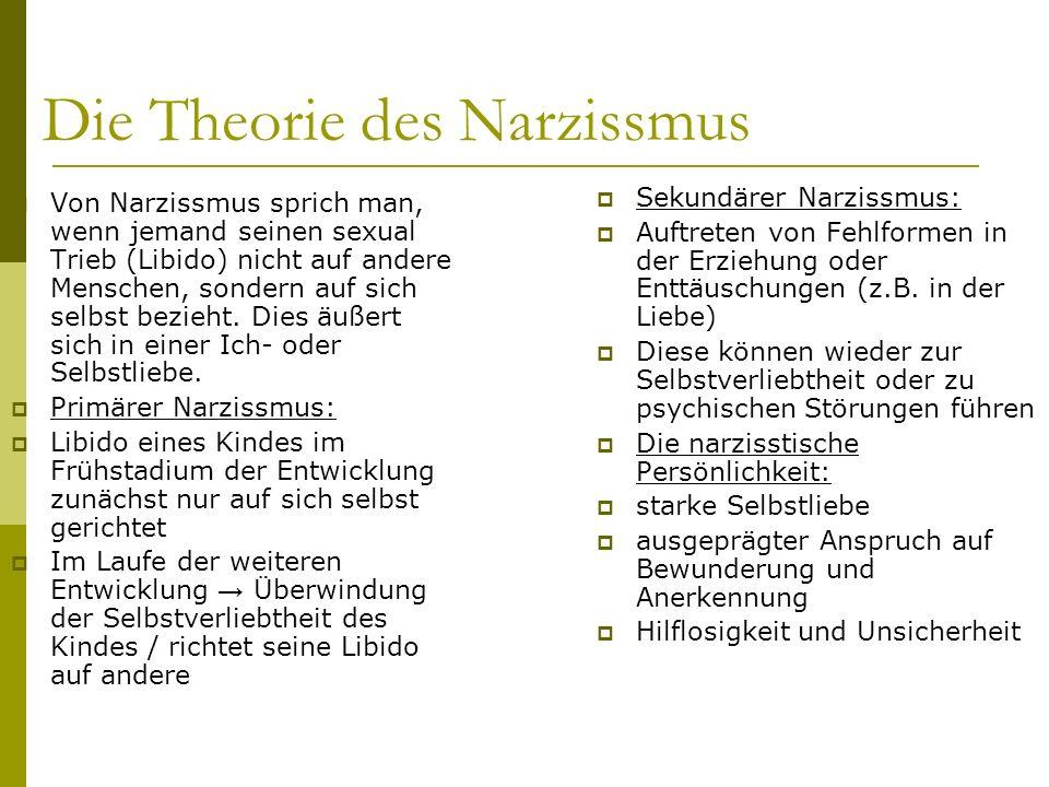 Die Theorie des Narzissmus