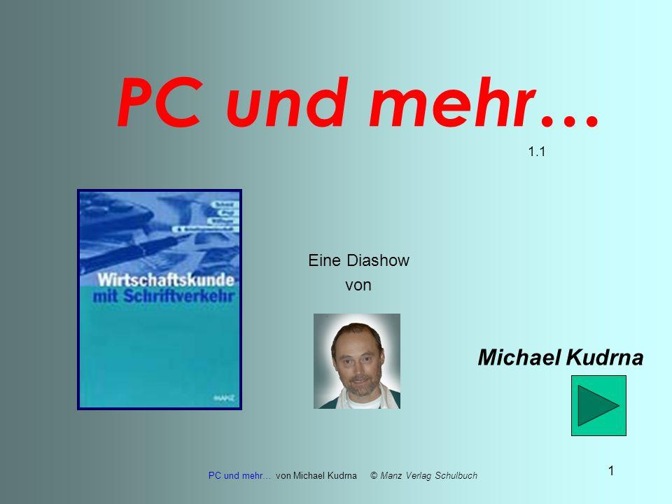 PC und mehr… 1.1 Eine Diashow von Michael Kudrna