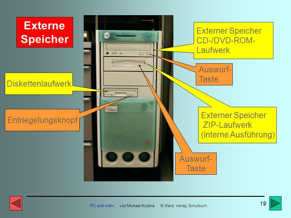 Externe Speicher Externer Speicher CD-/DVD-ROM- Laufwerk Auswurf-