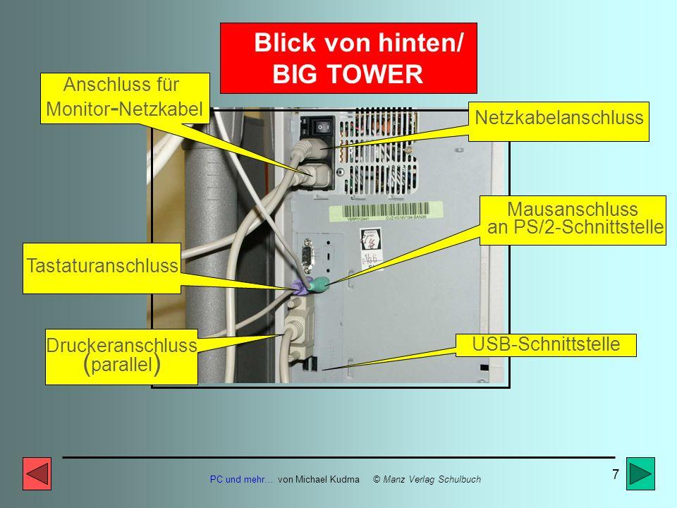 Blick von hinten/ BIG TOWER