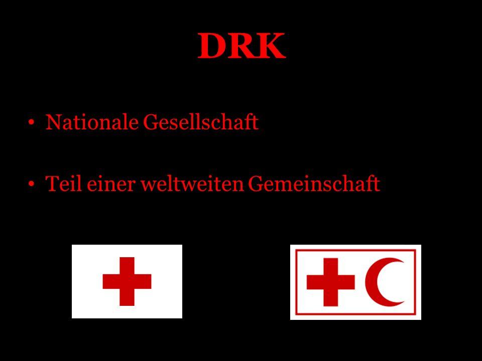 DRK Nationale Gesellschaft Teil einer weltweiten Gemeinschaft