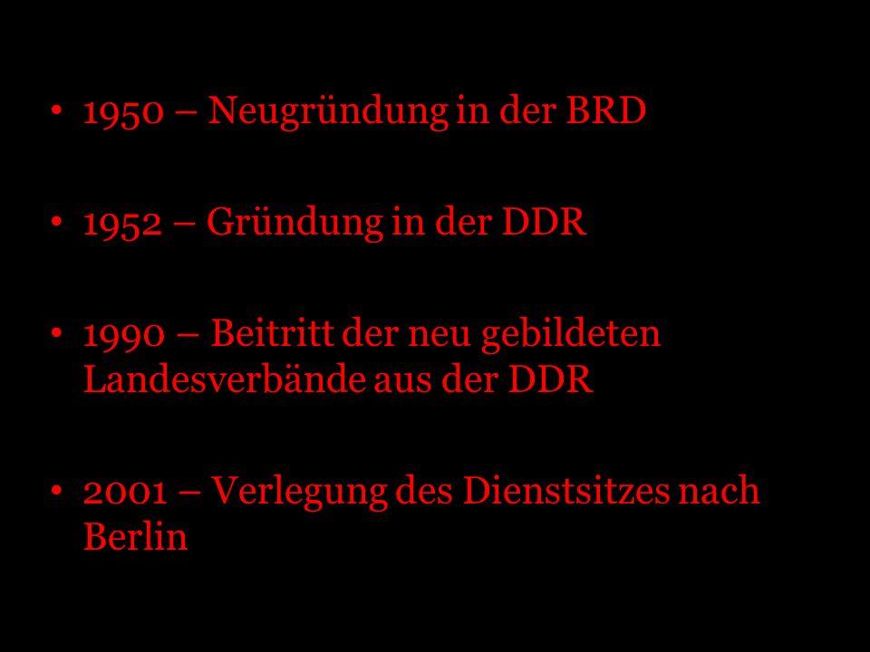 1950 – Neugründung in der BRD