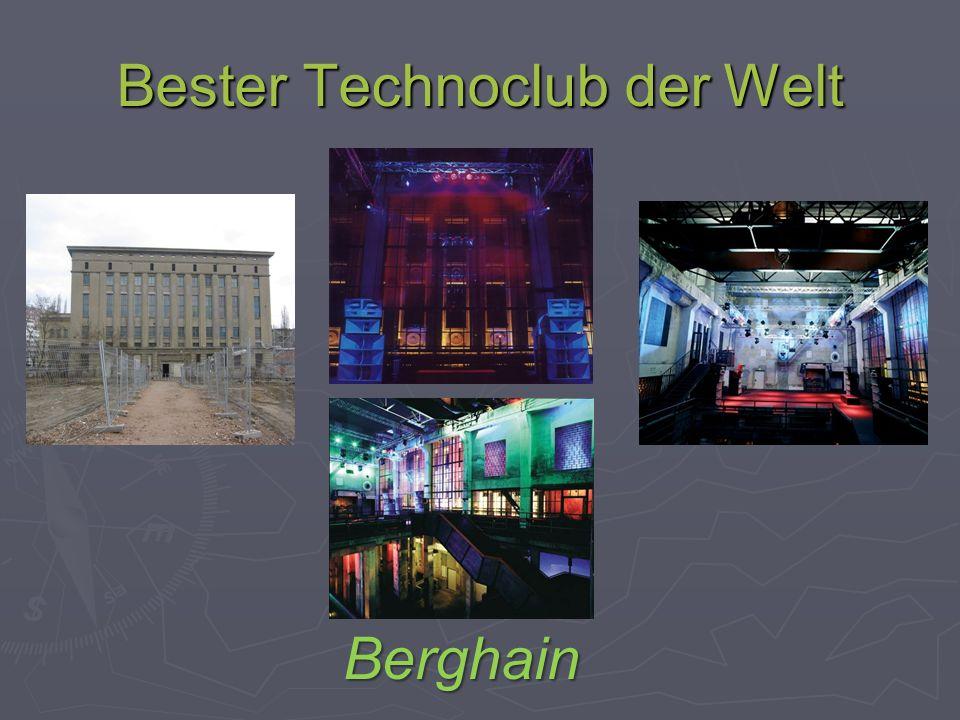 Bester Technoclub der Welt