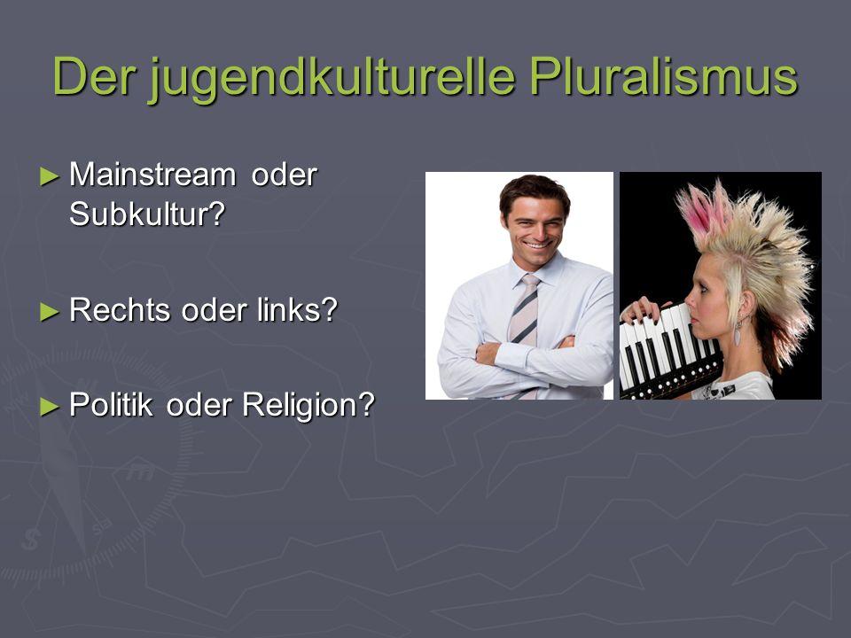 Der jugendkulturelle Pluralismus