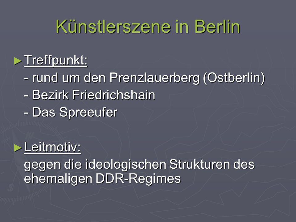 Künstlerszene in Berlin