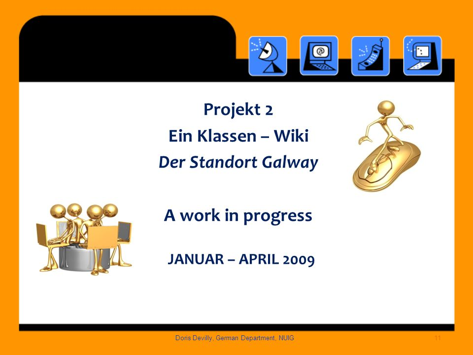 Project 2 JjANUAR – April 2009