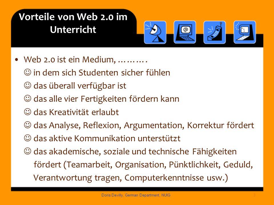 Vorteile von Web 2.0 im Unterricht