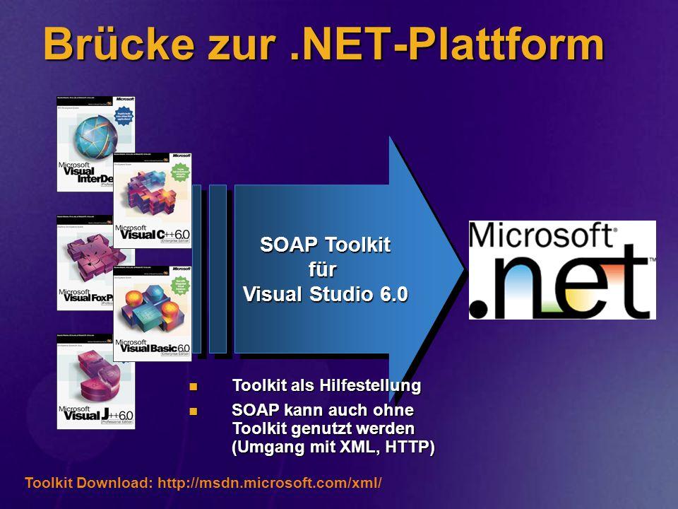 Brücke zur .NET-Plattform
