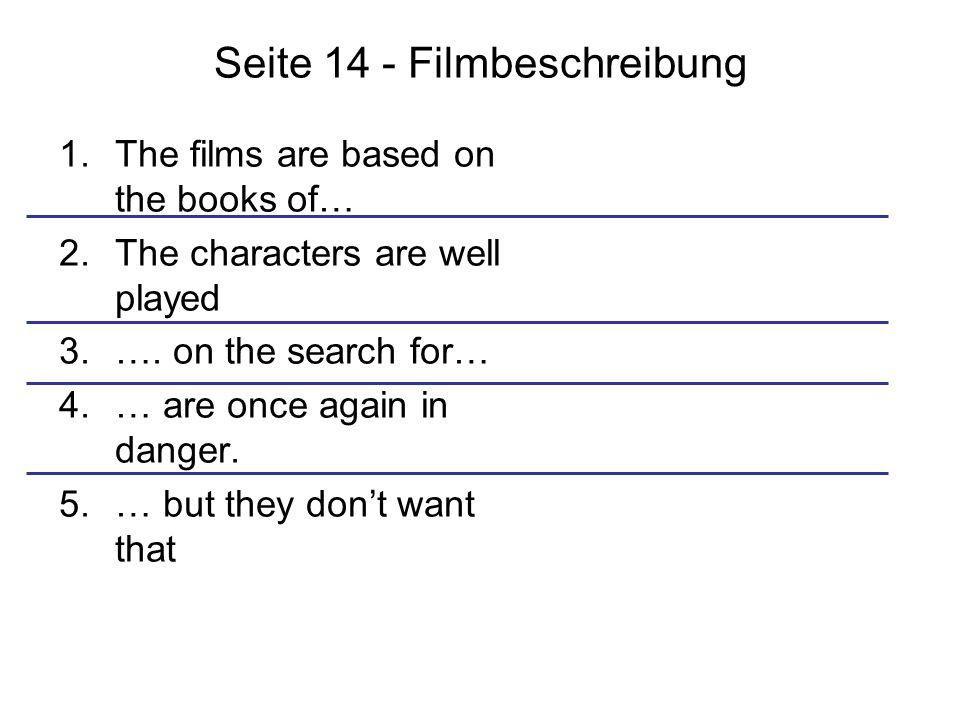 Seite 14 - Filmbeschreibung