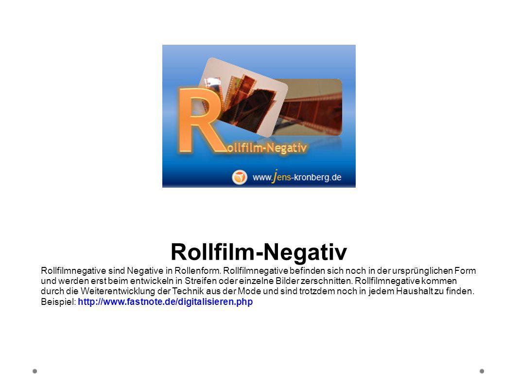 Rollfilm-Negativ