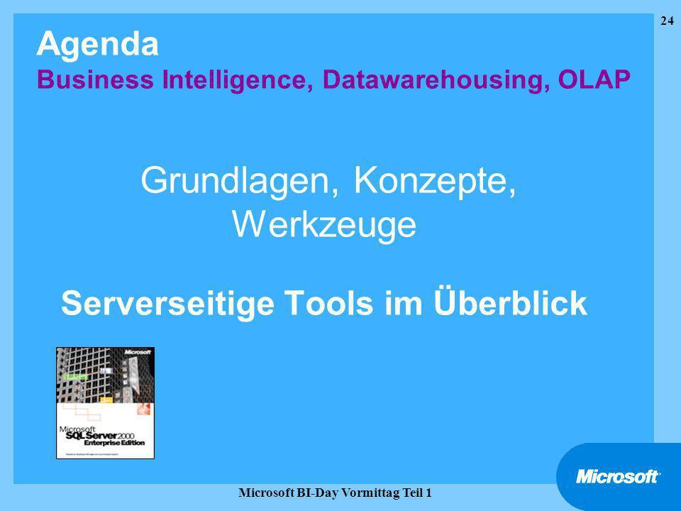 Grundlagen, Konzepte, Werkzeuge Serverseitige Tools im Überblick