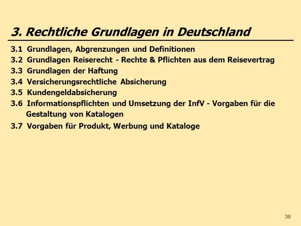 3. Rechtliche Grundlagen in Deutschland