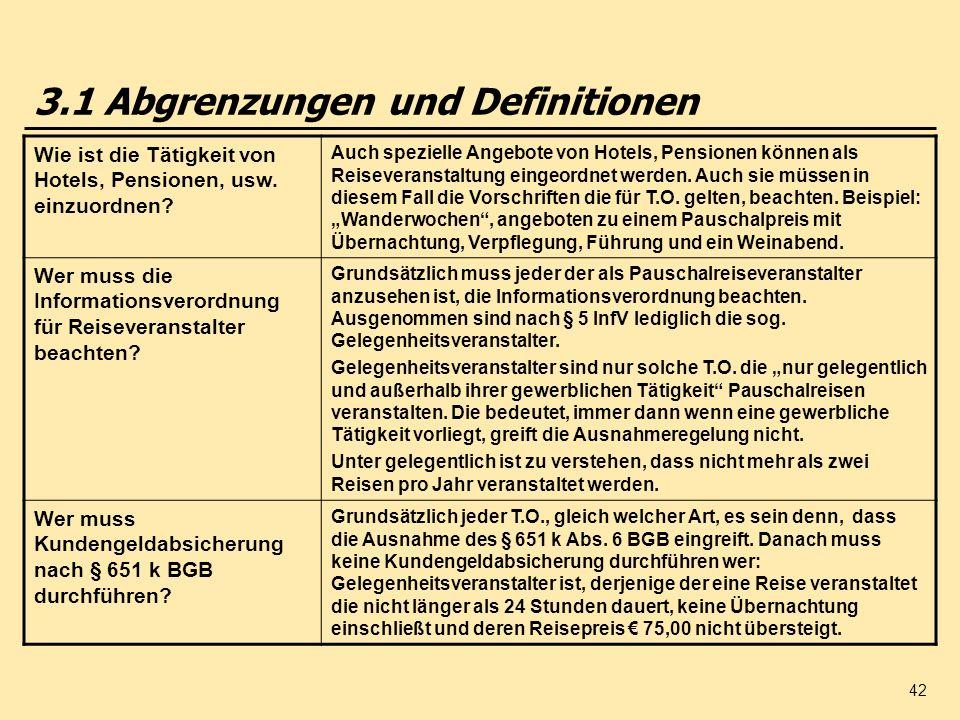 3.1 Abgrenzungen und Definitionen