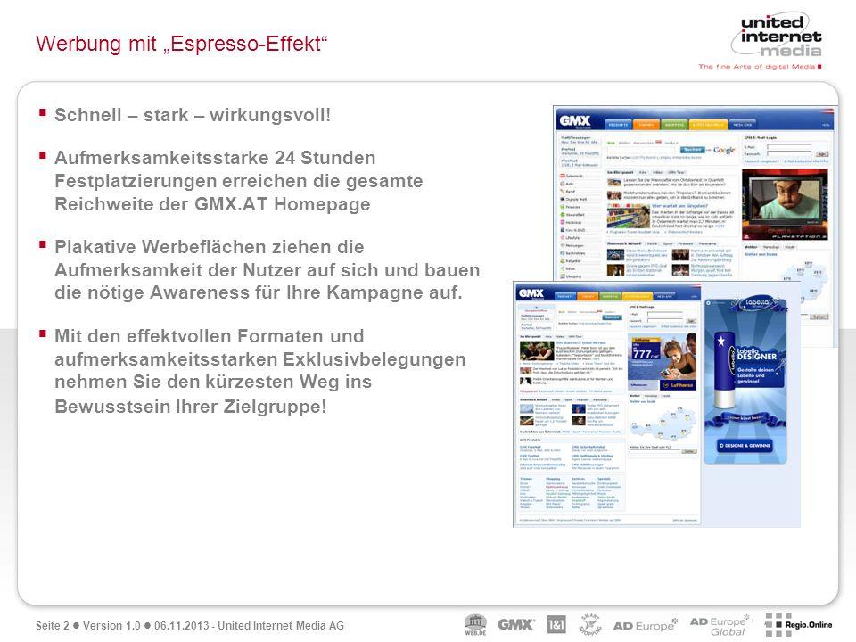 """Werbung mit """"Espresso-Effekt"""