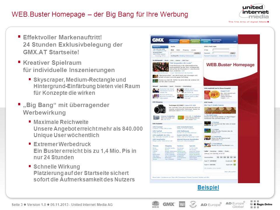 WEB.Buster Homepage – der Big Bang für Ihre Werbung